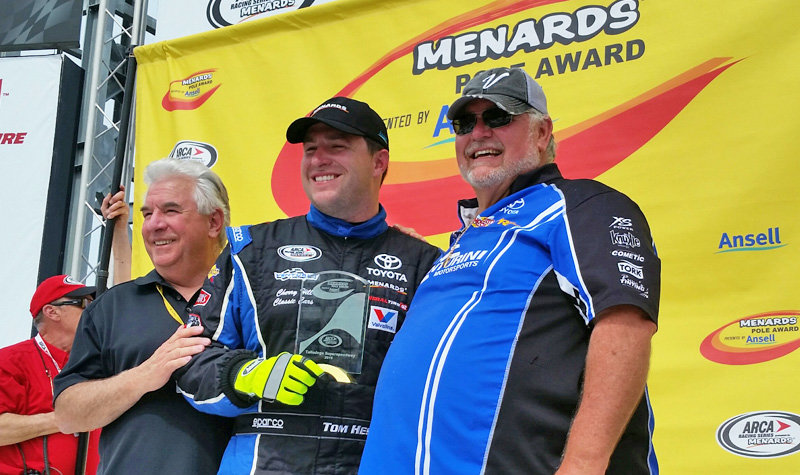 Hessert earns Menards Pole by Ansell at Talladega