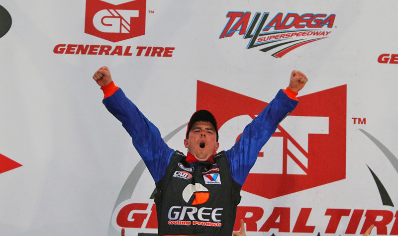 Gus Dean wins ARCA thriller at Talladega