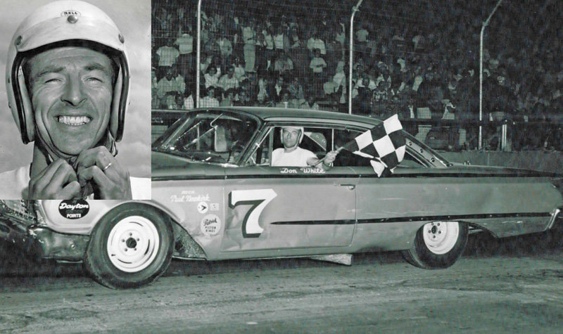 ARCA winner, USAC champ Don White passes