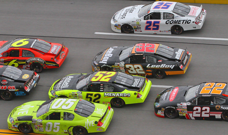 General Tire 200 delivers amazing 4-wide fun at 'Dega; News, notes & quotes...
