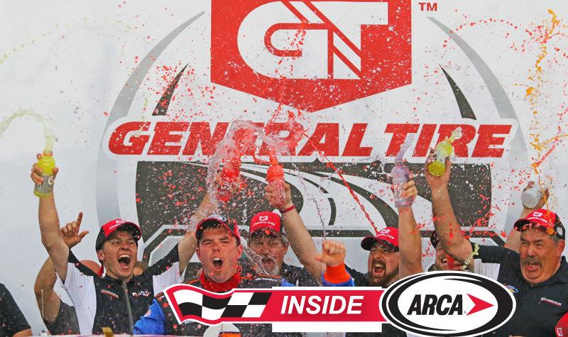 "Talladega winner Gus Dean, points leader Briscoe on ""Inside ARCA"" today!"