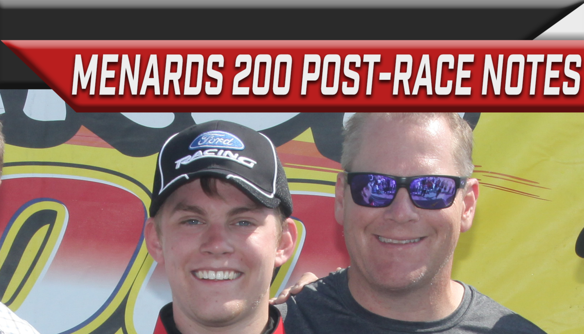 Snider adds to Cunningham's win column; NJMP road course next for Series