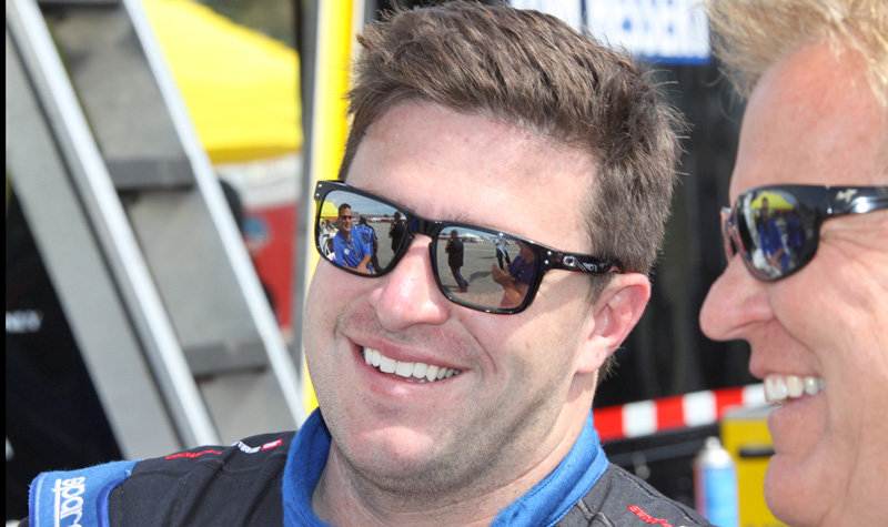 Hessert's finally home...all smiles for NJMP road course