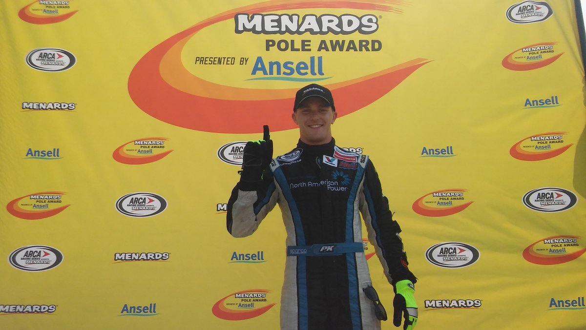 Kligerman Wins Pole in ARCA Return