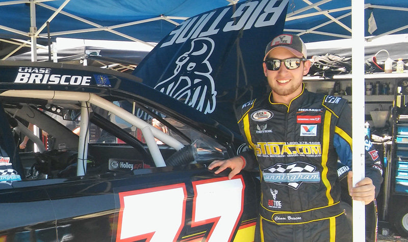 Briscoe puts up fastest speed of the day in final practice at Winchester