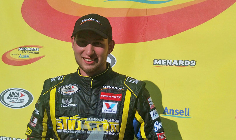 It's all Briscoe Saturday at Winchester; earns 5th pole of the year