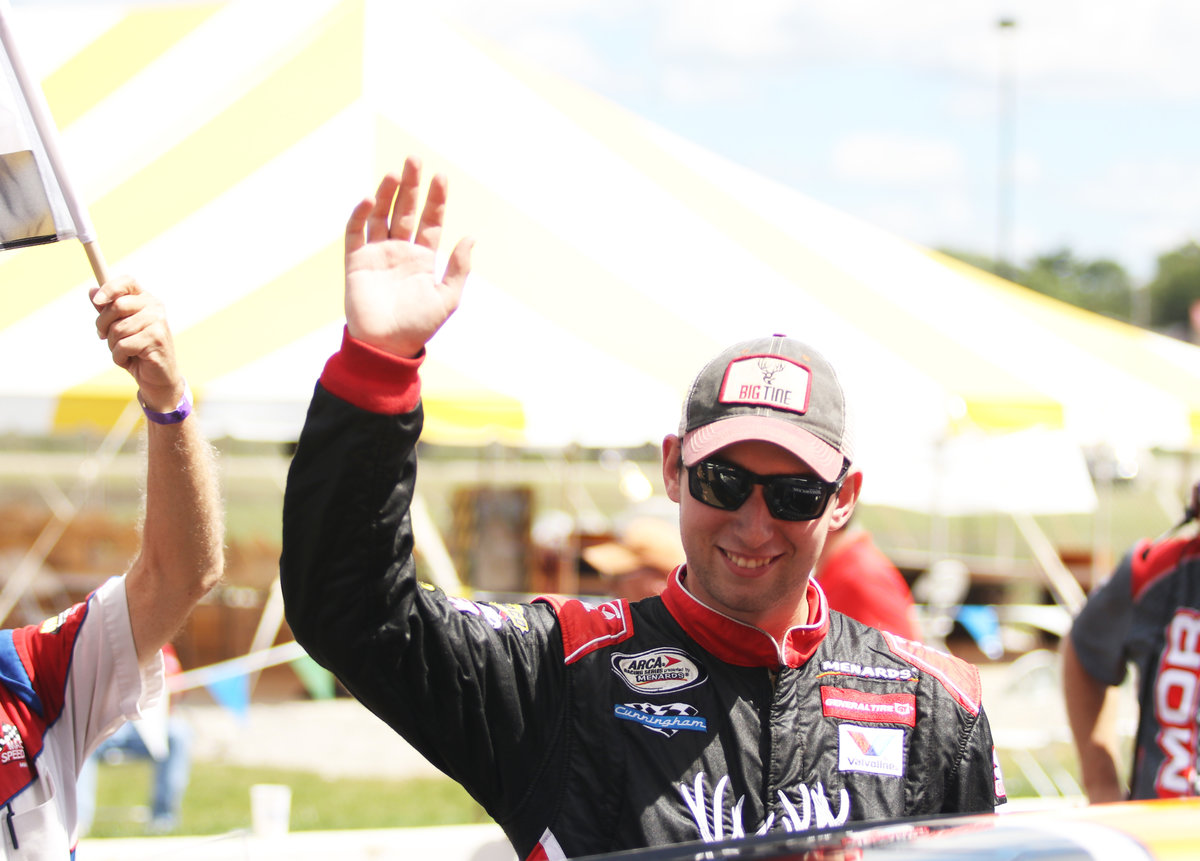 Iconic Kimmel becomes Briscoe's 10th teammate in 100th ARCA race at Salem
