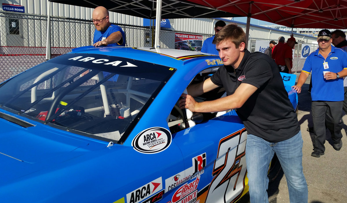 Busy week for Auburn University student Bret Holmes; all set for KY debut in Crosley 150