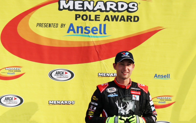 Briscoe shatters track record at Kentucky; earns 6th Menards Pole