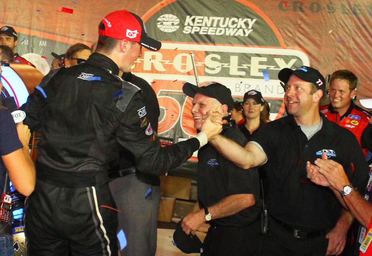 From Kimmel to Penske, crew chief Brian Wilson comes full circle at Kentucky