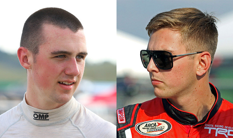 """Rookies Cindric, Sargeant featured guests on """"Inside ARCA"""" today"""