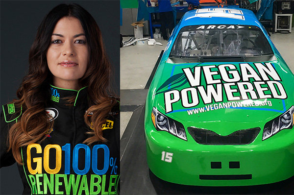 It's a 'wrap'...Munter's bringing Vegan power to Daytona