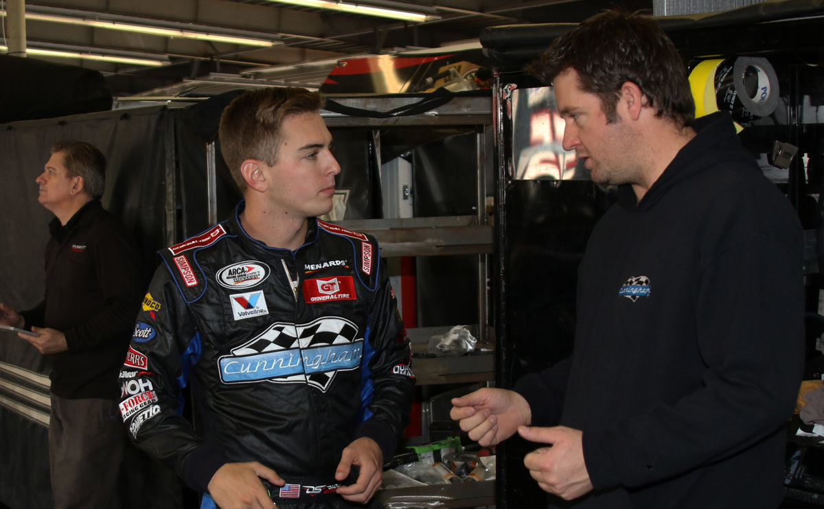 Sargeant stepping in for champ Briscoe...starts at Daytona