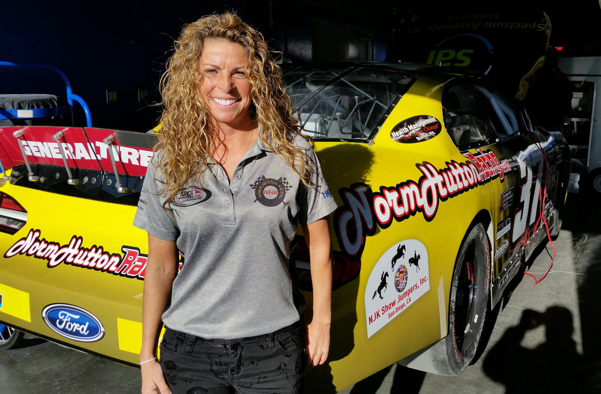 Car Chief, mechanical dynamo Shellie Stewart busting down barriers