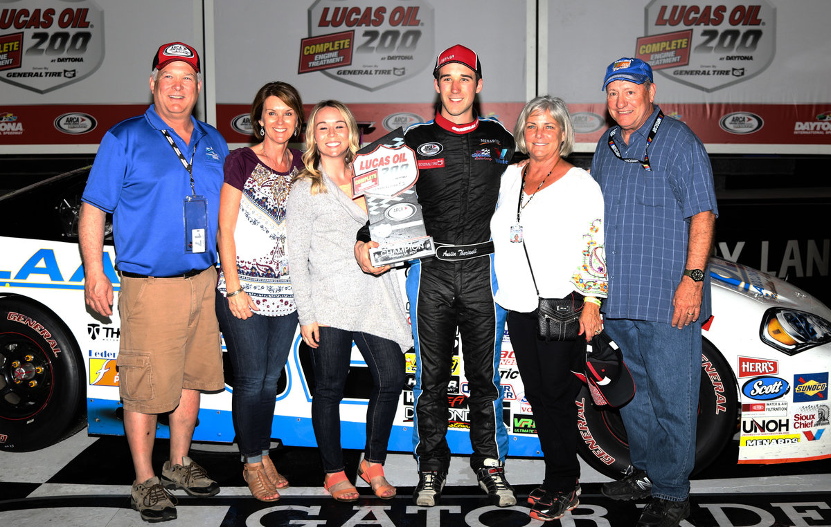 Theriault takes KSR back to Daytona glory, 3rd for Schrader, 1st for crew chief Richeson
