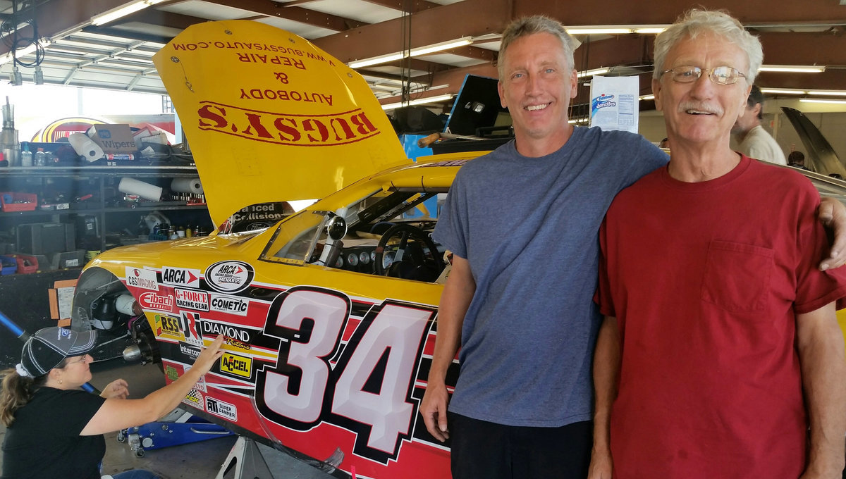 Mike Basham back to work on ole no. 34 for Nashville