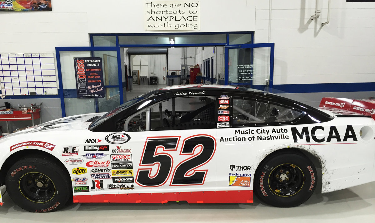 Nashville testing to annual Toledo ARCA Presser, Theriault on the way to T-Town