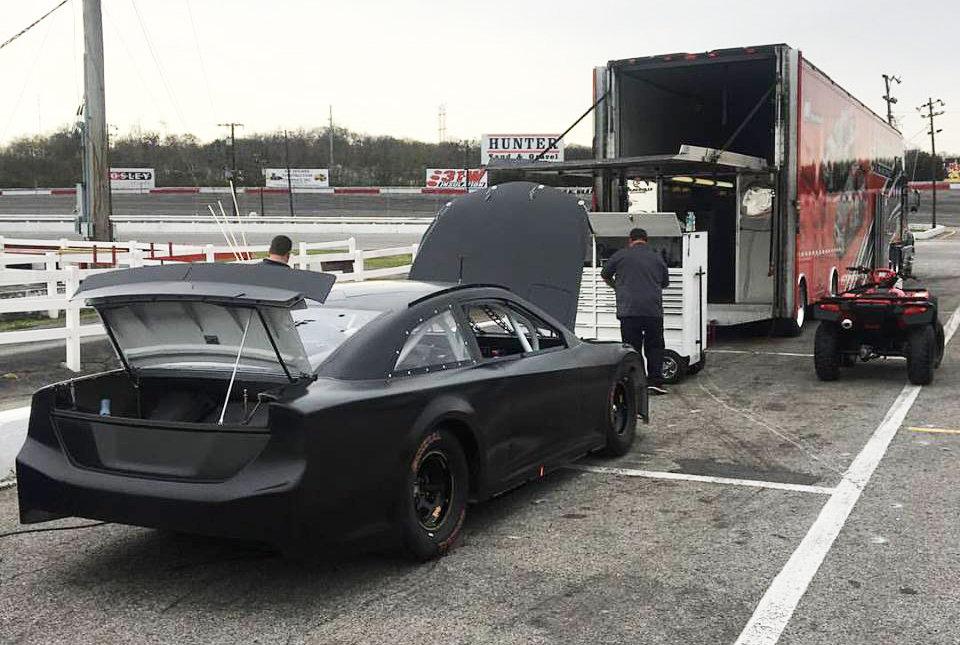Higdon takes first laps at Nashville for Kimmel Racing