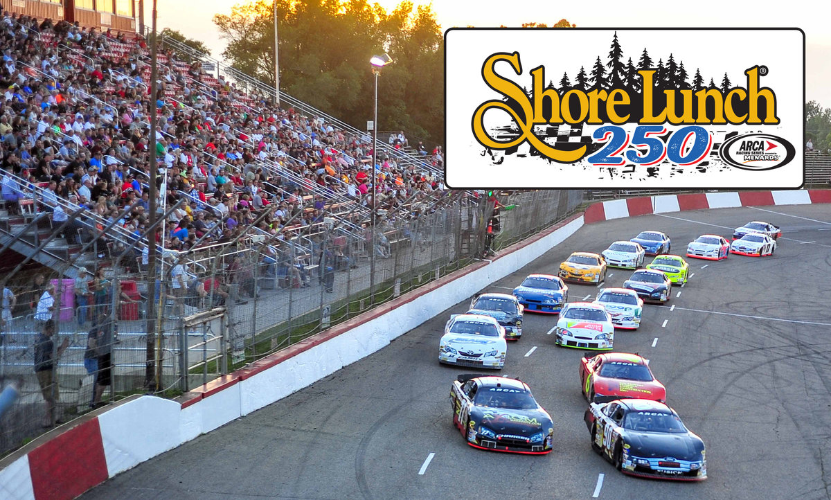Shore Lunch to sponsor ARCA Racing Series event at Elko Speedway