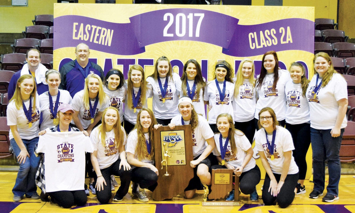 Congrats Lady Musketeers...from state champs to ARCA Grand Marshals