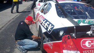 Ky Bodine At 42 Car