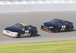77 Cars Daytona Test