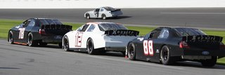 Multiple Cars Daytona Test