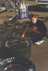 Checking Tires - KC Racing - 1997