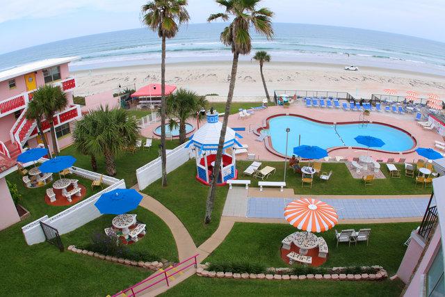 Tropical Manor Daytona Hotel Special ARCA Rates