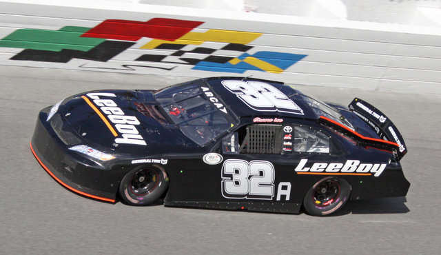 Shane Lee carshot Daytona test 2016