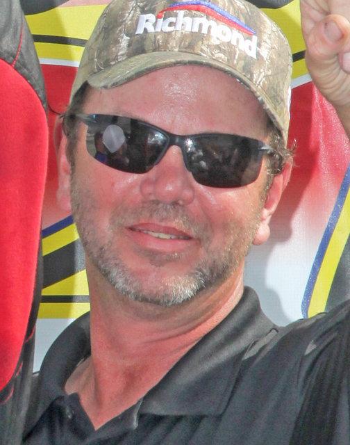 Jeff McClure candid