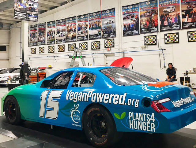 Leilani Munter Car Shot Vegan 2017