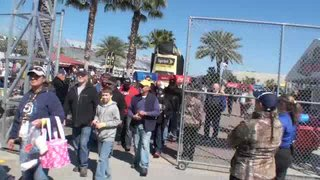 ARCA Fan Walk at Daytona