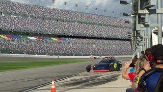 Daytona Testing - Driver Thomas Praytor