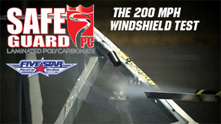 The 200 mph Safeguard Windshield Test