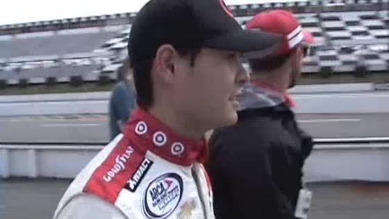 VIDEO: Kyle Larson on pole at Pocono
