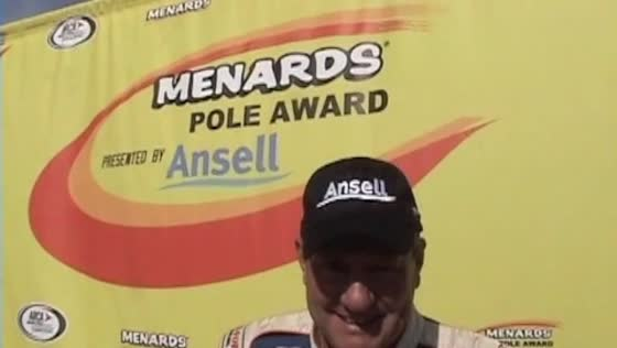 VIDEO: Schrader on pole at Winchester with new track record!