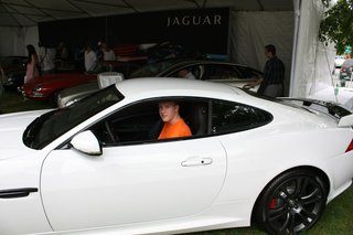 Sitting In Jaguar Xkr S