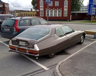 Citroen Sm In Stockholm Rear