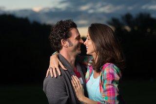 Dweezil and Megan Zappa