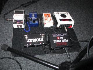 Kurt Morgans pedals