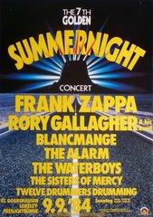 Concert Poster Summernt84