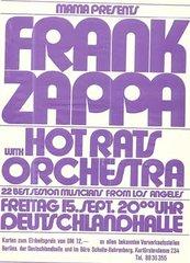Fz Hot Rats Orch Postr