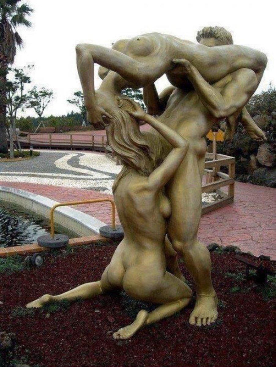 Statue sex xxx photo