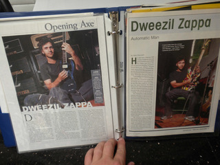 Dweezil Scrap Book 1