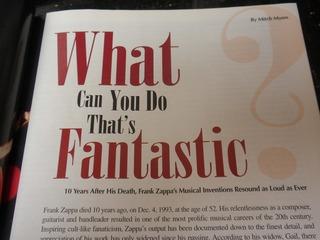 Zappa Inside Downbeat