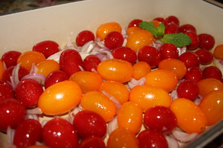 Roasting Of Heirloom Grape Tomatoes 2