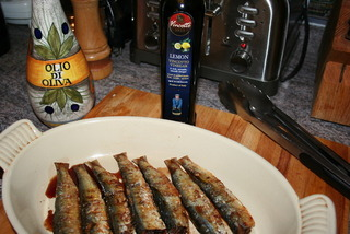 Grilled Sardines With Lemon Vincotto