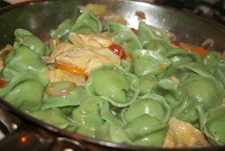 Saute Cooked Tortelinni