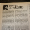 Fz Non Foods Article